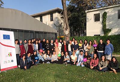 STK'lar İçin Grup Terapileri Programı Eğitimi Tamamlandı